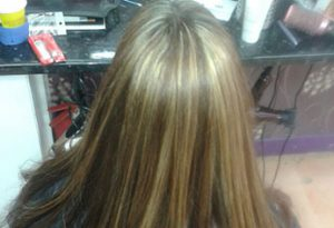 Hair cut one length