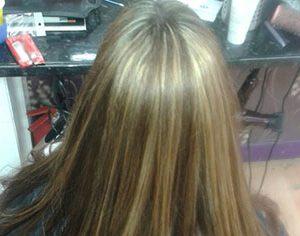One length/Student Hair Cut